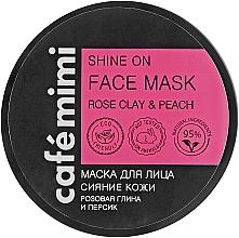 Parfémy, Parfumerie, kosmetika Maska pro rozjasnění pleti - Cafe Mimi Face Mask