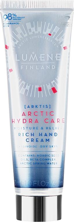 Hydratační krém na ruce - Lumene Arctic Hydra Care Moisture & Relief Rich Hand Cream