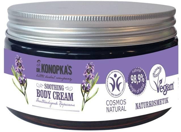 Uklidňující tělový krém - Dr. Konopka's Soothing Body Cream — foto N1
