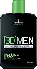 Parfémy, Parfumerie, kosmetika Šampon na vlasy a tělo - Schwarzkopf Professional 3D Mension Hair & Body Shampoo