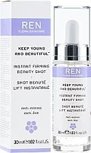 Parfémy, Parfumerie, kosmetika Sérum na obličej - Ren Keep Young and Beautiful Instant Firming Beauty Shot