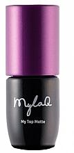 Parfémy, Parfumerie, kosmetika Top pro gel lak - MylaQ My Top Matte