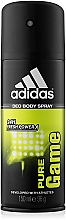Parfémy, Parfumerie, kosmetika Adidas Pure Game - Deodorant