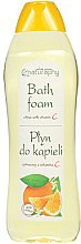 Parfémy, Parfumerie, kosmetika Pěna do koupele Citrusové s vitamínem C - Bluxcosmetics Naturaphy Citrus & Vitamin C Bath Foam