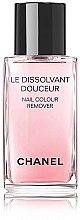 Parfémy, Parfumerie, kosmetika Jemný prostředek na odstranění laku z nehtů - Chanel Le Dissilvant Douceur Nail Colour Remover