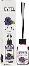Parfémy, Parfumerie, kosmetika Aroma difuzér Hyacint - Eyfel Perfume Reed Diffuser Hiacynt