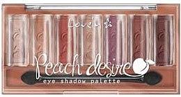 Parfémy, Parfumerie, kosmetika Paleta očních stínů - Lovely Peach Desire