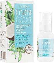 Parfémy, Parfumerie, kosmetika Sérum na vlasy s kokosovou vodou - Marion Enjoy Coco Serum