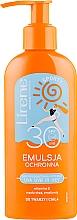 Parfémy, Parfumerie, kosmetika Emulze na opalování - Lirene Sun Care Sporty Moisturizing Emulsion SPF30 (s dávkovačem)