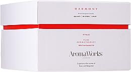Parfémy, Parfumerie, kosmetika Aromatická svíčka Harmonie se 3 knoty - AromaWorks Harmony Candle 3-wick