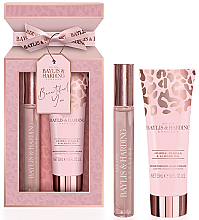 Parfémy, Parfumerie, kosmetika Baylis & Harding Jojoba, Vanilla & Almond Oil - Sada (edp/12ml + h/cr/50ml)