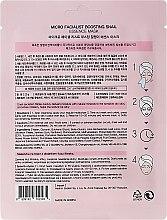 Plátýnková maska na obličej - Beauty Kei Micro Facialist Boosting Snail Essence Mask — foto N2