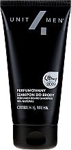 Šampony na vousy parfémovaný - Unit4Men Citrus&Musk Perfumed Beard Shampoo — foto N1