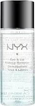 Parfémy, Parfumerie, kosmetika Odličovač očí a rtů - NYX Professional Makeup Eye & Lip Makeup Remover