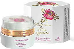 Parfémy, Parfumerie, kosmetika Krém na oční okolí - Bulgarian Rose Signature Cream Around Eyes