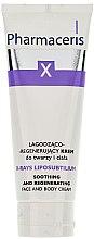 Parfémy, Parfumerie, kosmetika Krém uklidňující regenerující obličej a tělo - Pharmaceris X XRay-Liposubtilium Sooting and Regenerating Cream For Face and Body