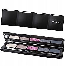Parfémy, Parfumerie, kosmetika Oční stíny - Semilac Matte Eye shadow Pallet