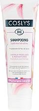 Parfémy, Parfumerie, kosmetika Šampon s organickou lilií a keratinem pro neposlušné a slabé vlasy - Coslys