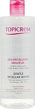 Parfémy, Parfumerie, kosmetika Micelární voda pro odličování - Topicrem Gentle Micellar Water Face & Eyes