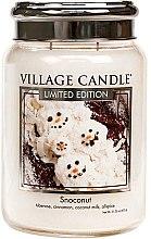 Parfémy, Parfumerie, kosmetika Vonná svíčka ve skle - Village Candle Snoconut Glass Jar