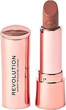 Parfémy, Parfumerie, kosmetika Rtěnka - Makeup Revolution Satin Kiss Lipstick