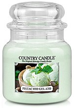 Parfémy, Parfumerie, kosmetika Vonná svíčka ve skle - Country Candle Pistachio Gelato