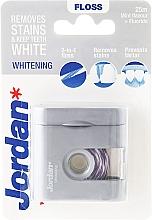 Parfémy, Parfumerie, kosmetika Dentální nit - Jordan Whitening Floss