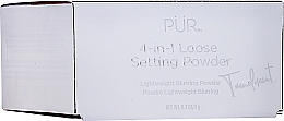 Parfémy, Parfumerie, kosmetika Fixační pudr na obličej - Pur 4-in-1 Loose Setting Powder