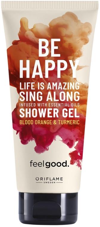Sprchový gel Inspirující - Oriflame Feel Good Be Happy — foto N1