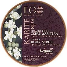 """Parfémy, Parfumerie, kosmetika Vitaminový tělový peeling """"Tonus a Mládí pleti"""" - ECO Laboratorie Karite SPA Body Scrub"""