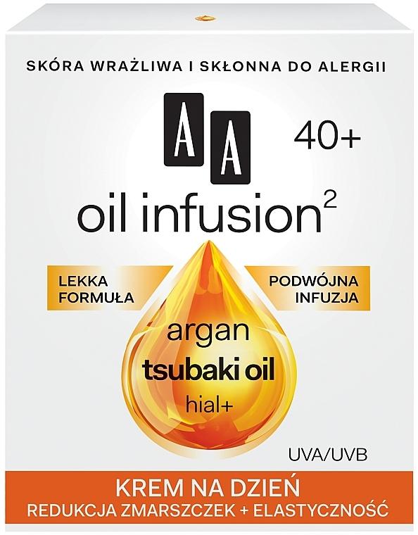 Denní krém proti vráskám - AA Oil Infusion Day Cream Against Wrinkles 40+ — foto N1