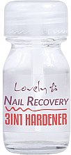 Parfémy, Parfumerie, kosmetika Tužidlo na nehty 3v1 - Lovely Nail Recovery 3 in 1 Hardener
