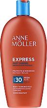 Parfémy, Parfumerie, kosmetika Voděodolný opalovací krém na tělo - Anne Moller Express SPF30