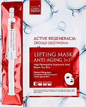 Parfémy, Parfumerie, kosmetika Maska na obličej se sérem - Czyste Piekno Active Regeneration + Serum