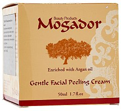 Parfémy, Parfumerie, kosmetika Krém-peeling na obličej - Mogador Centle Facial Peeling Cream