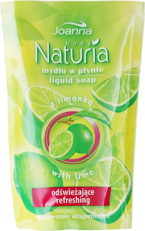 "Tekuté mýdlo ""Lime"" - Joanna Naturia Body Lime Liquid Soap (Refill)"