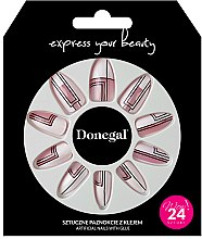Parfémy, Parfumerie, kosmetika Sada umělých nehtů s lepidlem, 3050 - Donegal Express Your Beauty