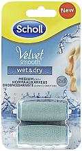 Parfémy, Parfumerie, kosmetika Náhradní válečky pro elektrický soubor - Scholl Velvet Smooth Wet&Dry
