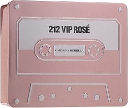 Parfémy, Parfumerie, kosmetika Carolina Herrera 212 Vip Rose - Sada (edp/50ml + edp/5ml + b/lot/75ml)