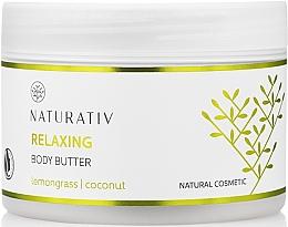 Parfémy, Parfumerie, kosmetika Olej na tělo s vyhlazujícím efektem - Naturativ Relaxing Body Butter Lemongrass