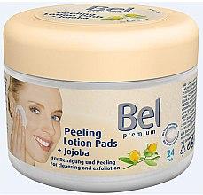 Parfémy, Parfumerie, kosmetika Vlhčené kosmetické disky s jojoby - Bel Premium Peeling Lotion Jojoba Pads
