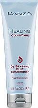 Parfémy, Parfumerie, kosmetika Kondicionér pro odstranění zarudnutí - L'anza Healing ColorCare De-Brassing Blue Conditioner