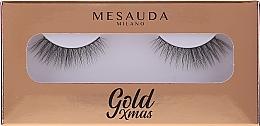 Parfémy, Parfumerie, kosmetika Umělé řasy - Mesauda Milano Gold Xmas Instant Glam False Eyelashes 204