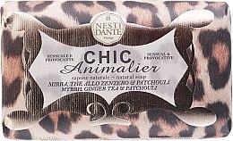 """Parfémy, Parfumerie, kosmetika Mýdlo """"Bronz Leopard"""" - Nesti Dante Chic Animalier Soap"""