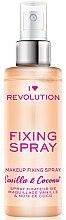 Parfémy, Parfumerie, kosmetika Fixační sprej na make-up - I Heart Revolution Fixing Spray Vanilla & Coconut