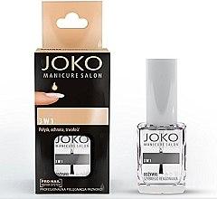 Parfémy, Parfumerie, kosmetika Prostředek na nehty 3v1 - Joko Manicure Salon 3 in 1 Top