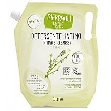 Parfémy, Parfumerie, kosmetika Antibakteriální mýdlo pro intimní hygienu s extraktem organického tymiánu - Ekos Personal Care Thyme Intimate Cleanser (náhradní náplň )