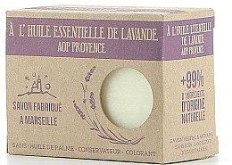 Parfémy, Parfumerie, kosmetika Marseille mýdlo s levandulovým olejem - Foufour Savon A l'Huile Essentielle de Lavande AOP Provence