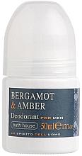 Parfémy, Parfumerie, kosmetika Bath House Bergamot & Amber - Deodorant