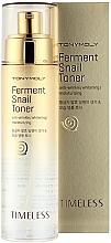 Parfémy, Parfumerie, kosmetika Toner s hlemýžďovým mucinem - Tony Moly Timeless Ferment Snail Toner